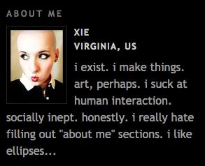 About Me, circa 2005
