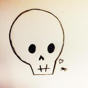 Skull Spider Ret