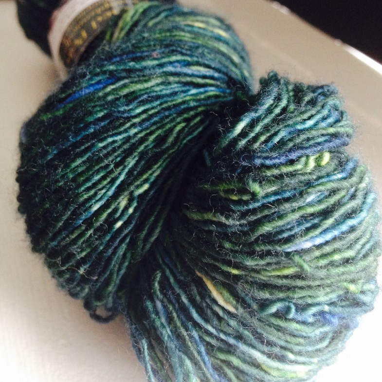 Unplanned Peacock Kinky Sock - Frog