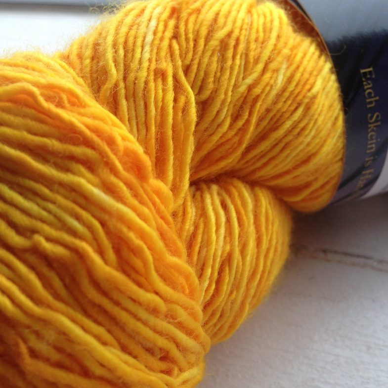 Unplanned Peacock - Kinky Sock - Butterscotch