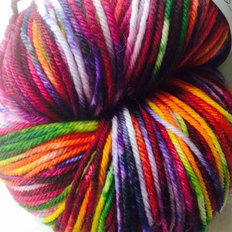 Knit Wit Victory Sock Market Flowers 01