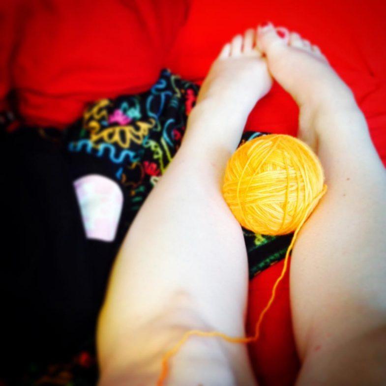 Cyntaf Yarn Ball