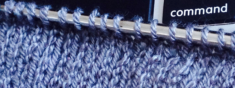 Featherweight Cardigan Gauge Swatch