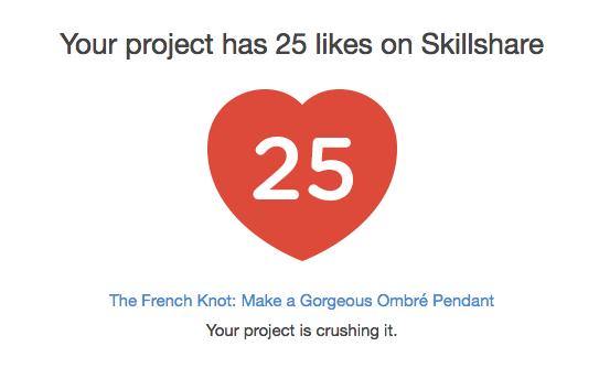 Skillshare Likes